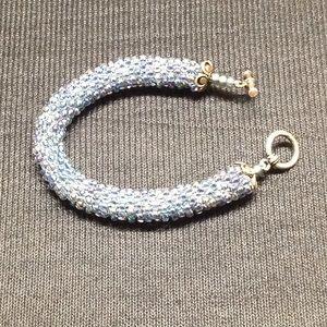 Jewelry - Beautiful Hand Beaded Tubular Bracelet